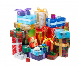 Wrapped Gifts - Let In Order Declutter Your Home to Make Room for Them
