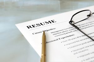 Organize resumes and cover letters in a designated folder